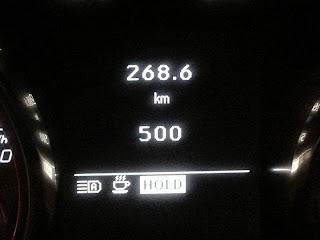 SLK 500km達成