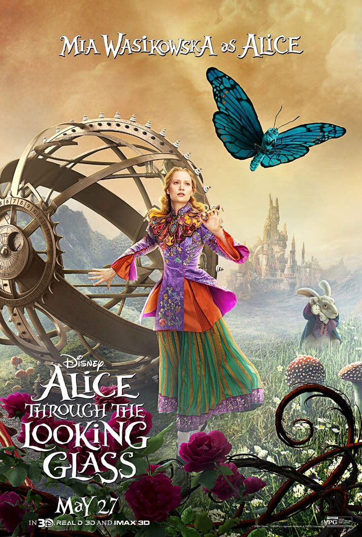 Póster: Alice Through the Looking Glass