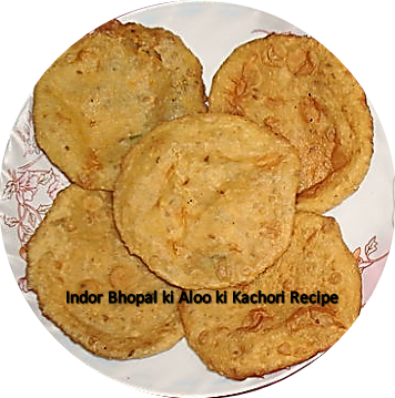 Madhyapradesh ki Bhopali yaa Indori Aloo ki Kachori ki recipe