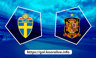 مشاهدة مباراة اسبانيا ضد السويد 14-06-2021 بث مباشر في بطولة اليورو