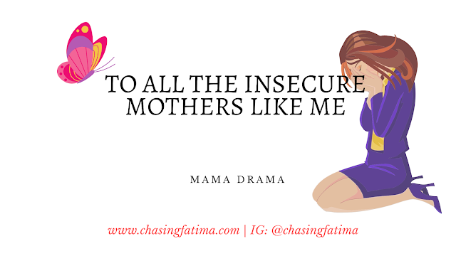 Insecure mother's realization