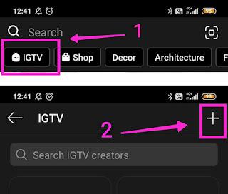 Cara Membuat IGTV di Android