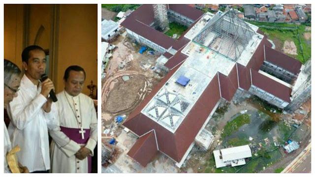 Karena Mirip Salib, Jokowi Didesak Ubah Bentuk 'Masjid Ahok'