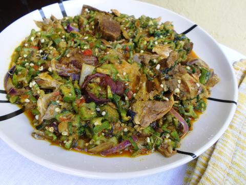 How to prepare Okra Soup