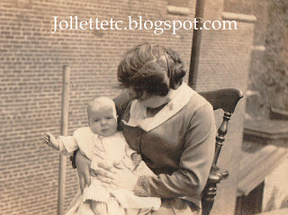John Jr and grandmother maybe 1917 New York  http://jollettetc.blogspot.com