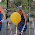 "Panoorin | Mother's Day Balloon Surprise Prank: ""Pera na, Lumipad pa!"""