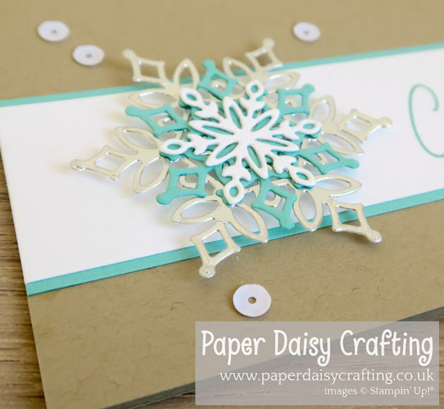 Snowfall thinlits Stampin Up