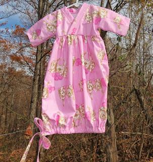 Baby Drawstring Nightgown Pattern Baby Patterns