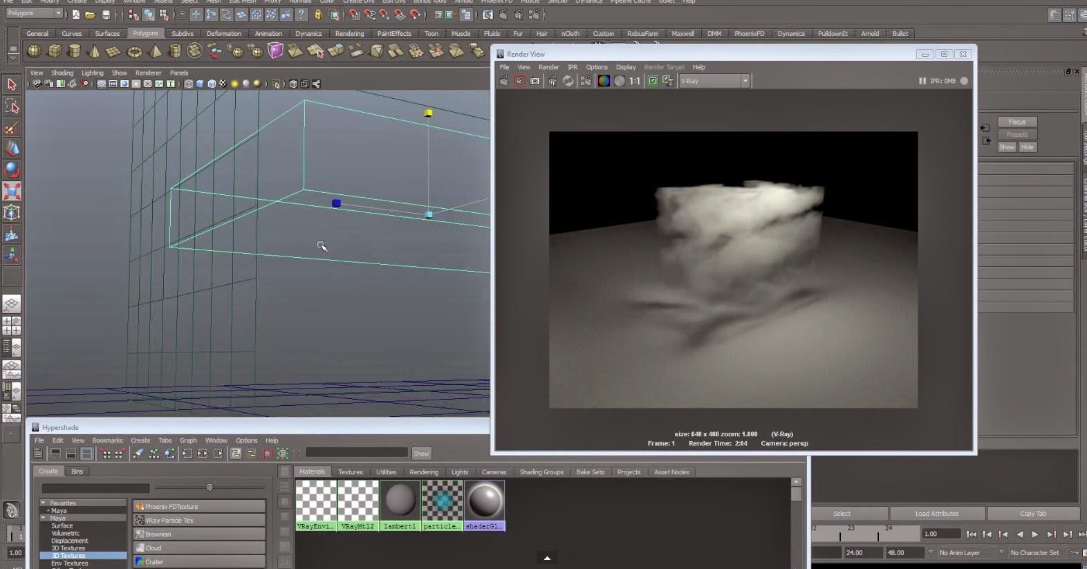Maya Vray Environment Fog tutorial | CG TUTORIAL