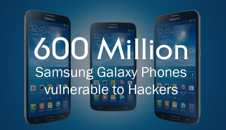 Samsung Flaw Lets Hackers Easily Take Control of Galaxy Mobiles