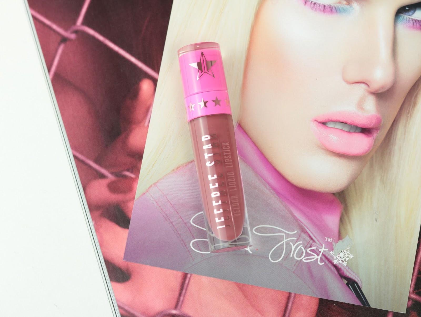 Les Velour Liquid Lipsticks de Jeffree Star Androgyny swatch