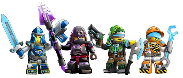 Lego Universe PC Game Minifigures