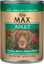 Picture of Nutro Max Adult Chicken, Rice and Turkey Canned Dog Food
