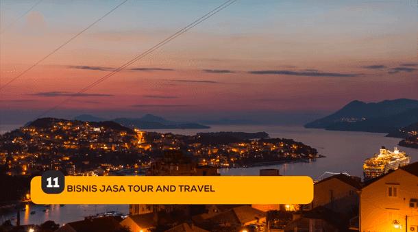11. Bisnis Jasa Tour and Travel