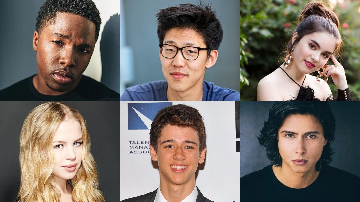 Looking For Alaska - Denny Love, Jay Lee, Landry Bender, Sofia Vassilieva, Uriah Shelton & Jordan Connor Join Hulu's John Green Series