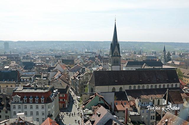 Vistas desde la Catedral de Constanza