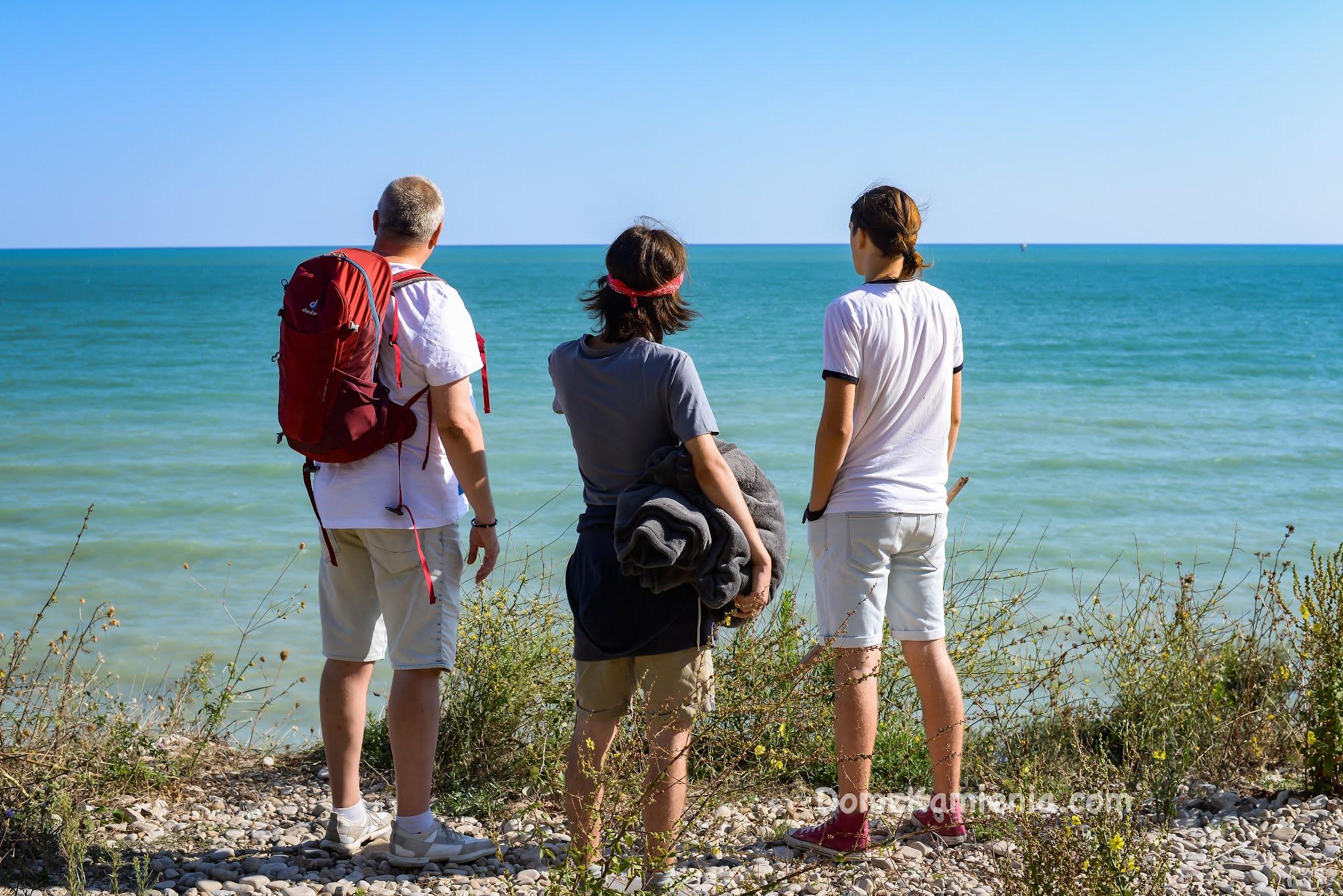 Treking Punta Aderci - Katarzyna Nowacka, Dom z Kamienia blog