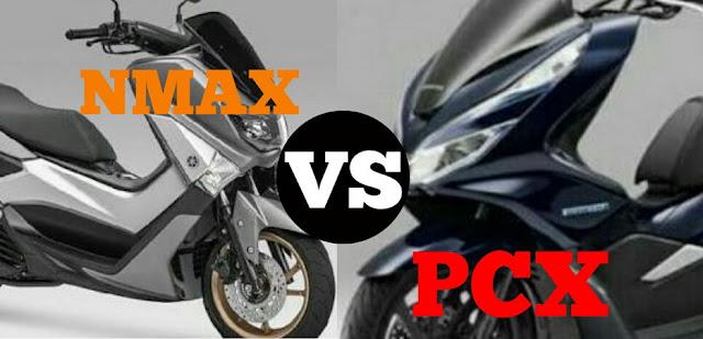 Yamaha nmax vs honda pcx, siapa lebih unggul?