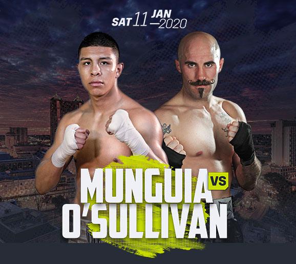 Jaime Munguia vs. Gary O'Sullivan