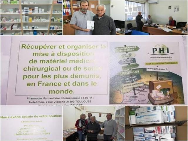 Δωρεά Γαλλικής ΜΚΟ στο Κοινωνικό Φαρμακείο του Δήμου Ηγουμενίτσας