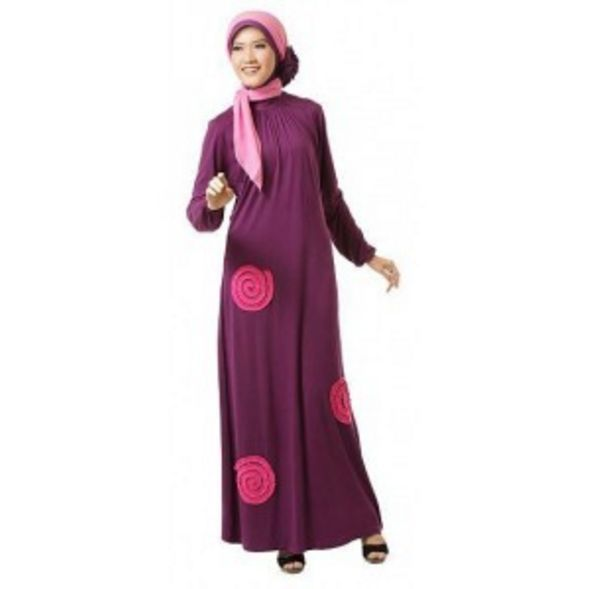 Model Terbaru Jubah Batik Wanita Modern Elegan Di Jual