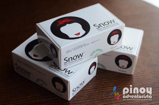 Snow Whitening Soap Review