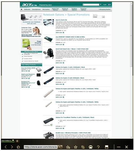 Download center free pdf acer iconia user manual guide free the web content will be displayed across both screens the toolbar at the bottom of the screens gives you easy control over the open pages fandeluxe Images