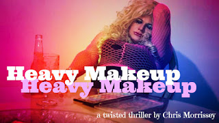 Angelie Hollywood in the movie HEAVY MAKEUP by Chris Morrissey