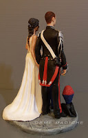 cake topper milano statuette sposo carabiniere esclusive fatte a mano per torta matrimonio orme magiche
