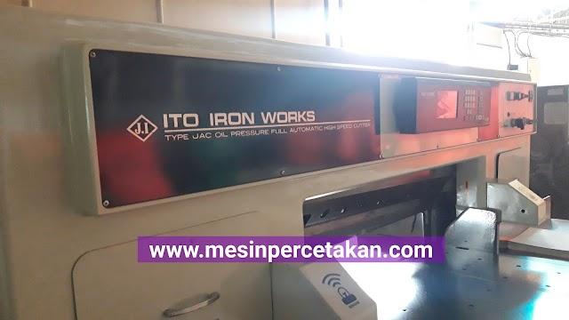 ITOTEC 100 | Mesin Potong Kertas PLANO