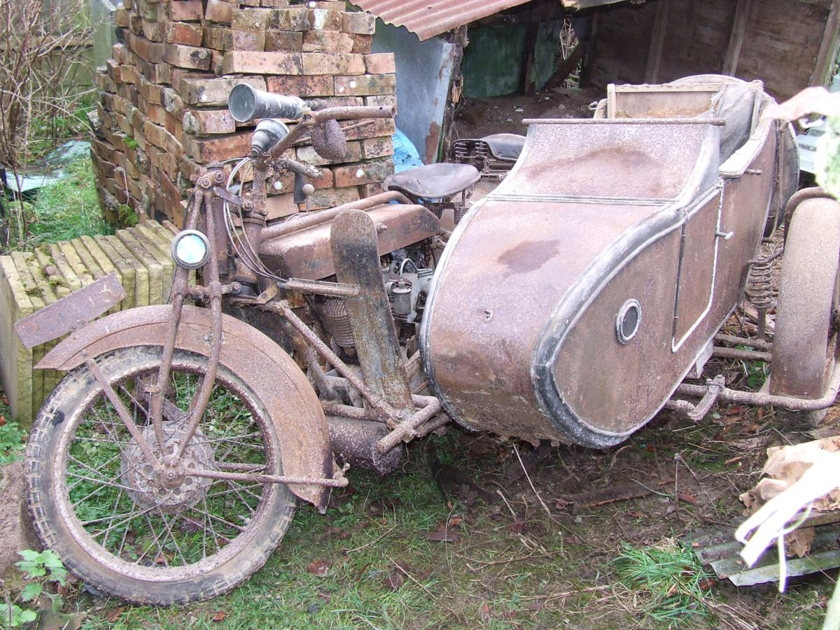 Molten Metal Classic Cars Barn Find Bikes Discovered By