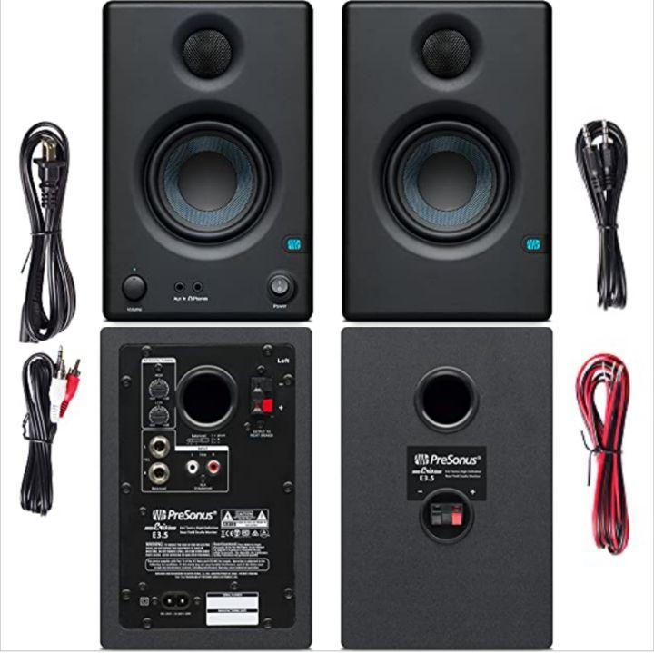 PreSonus Studio Speakers - Eris E3.5 Dual Sound Woofer Audio Monitors