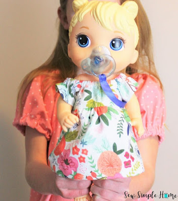 baby doll peasant dress