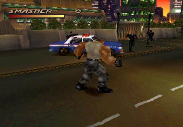 لعبة Fighting Force من ميديا فاير