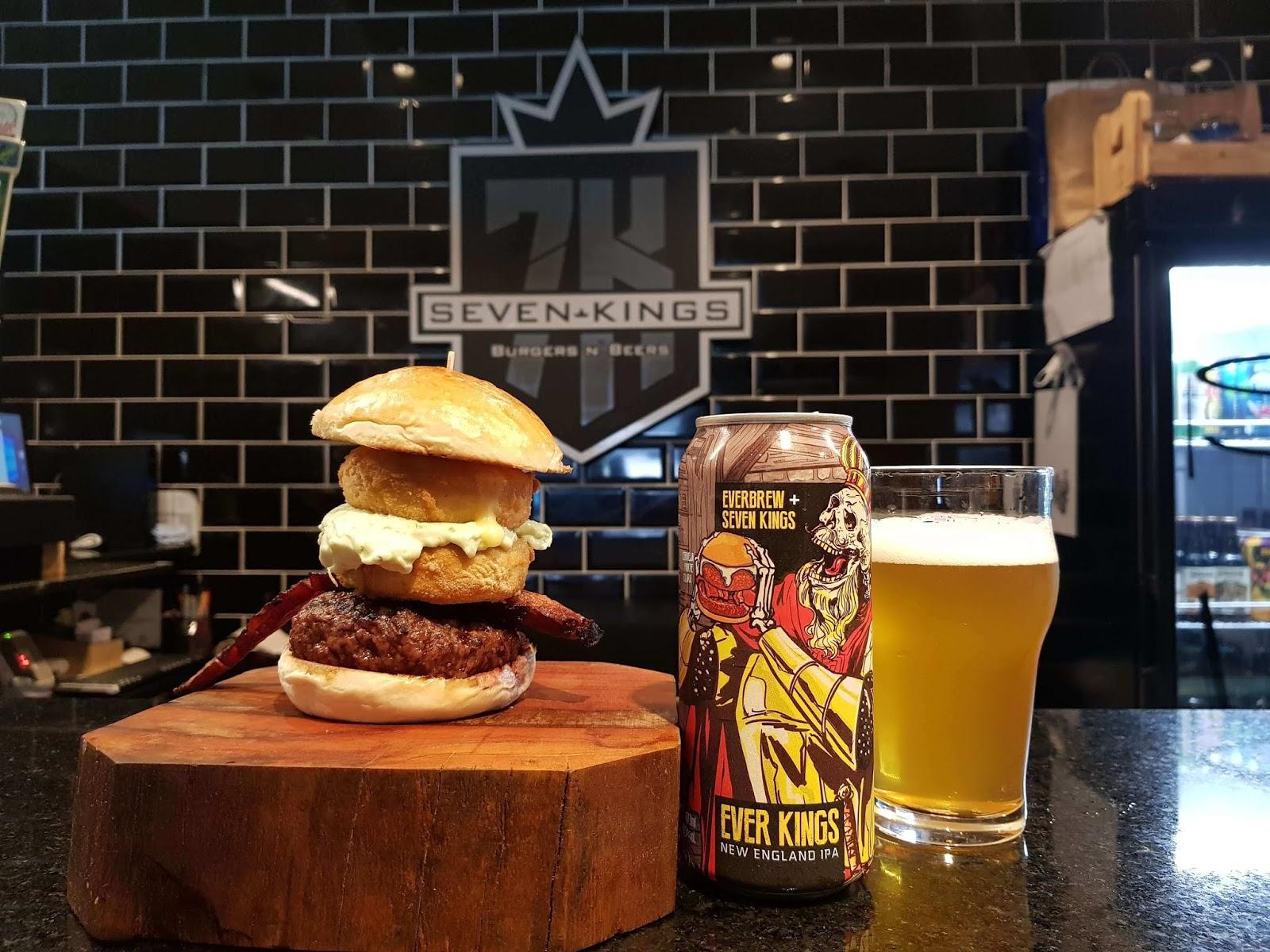 Tem Na Web - Qual o Melhor Hambúrguer do Brasil? Conheça o Camemburger, da Seven Kings.