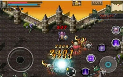 Download Aurum Blade EX MOD Apk (Unlimited Gems)