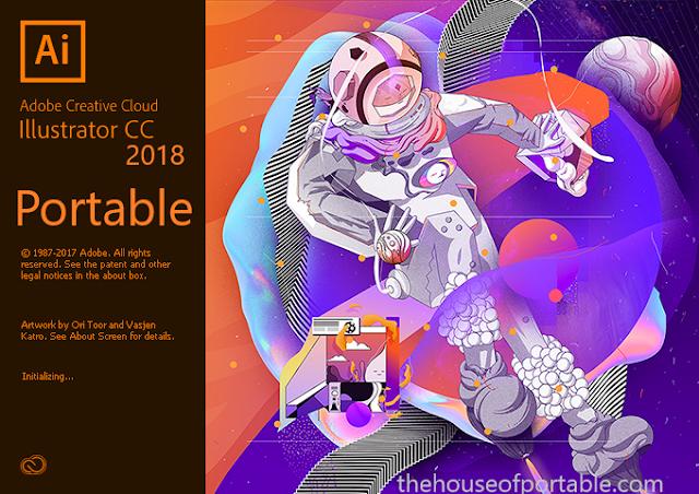 Adobe Illustrator CC 2018 Portable Free Download 32/64 Bit