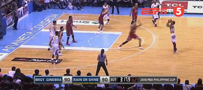 Ginebra def. Rain or Shine, 100-92 in 3OT (REPLAY VIDEO) March 2