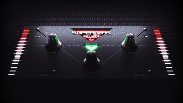 Interface do plugin Baby Audio - Super VHS