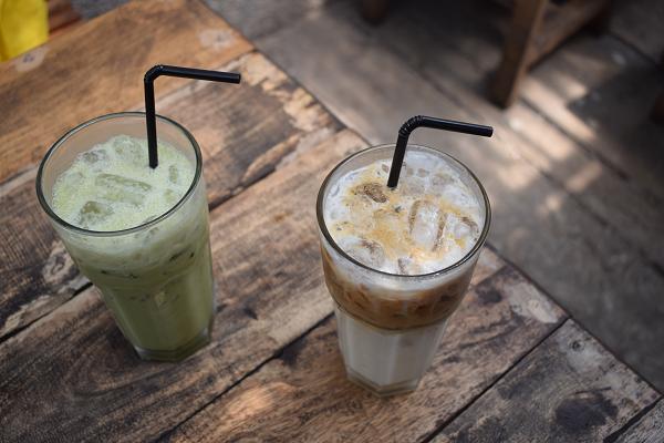 Green Tea & Vanilla Latte