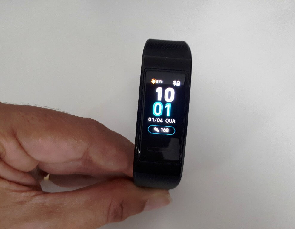 melhor smartband com GPS integrado