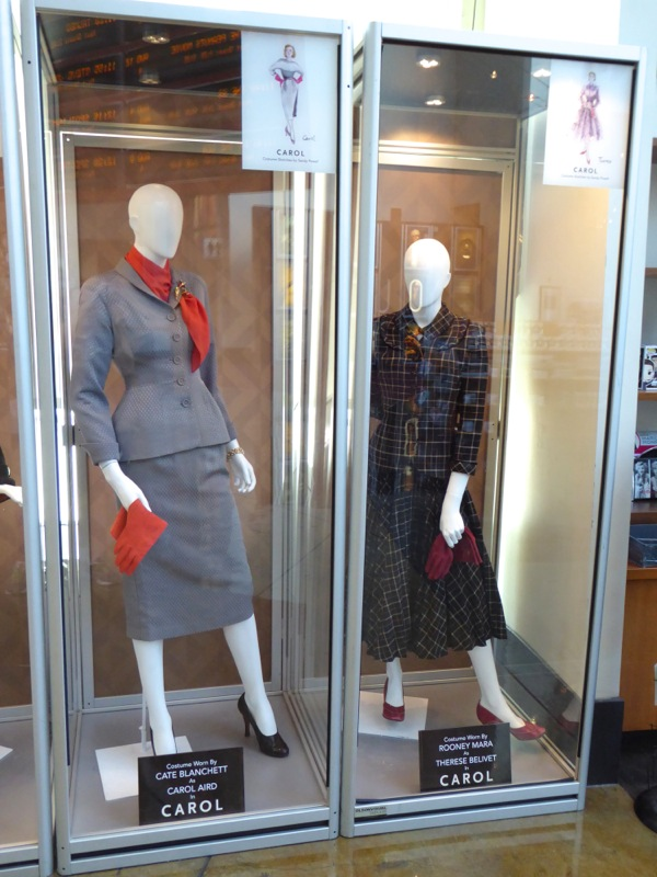 Original Carol film costumes