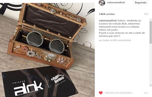 Coleção Chilli Beans + DJ Alok