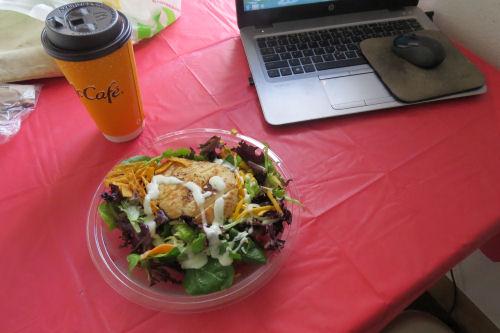 McDonald's SW Chicken Salad