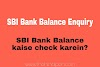 Check SBI Bank Balance and Mini Statement in Hindi