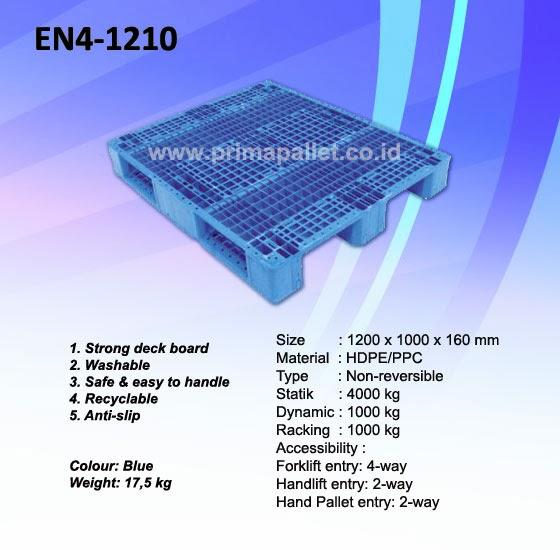 Pallet Plastik EN4-1210