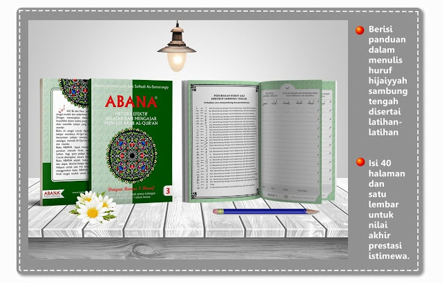 Buku Menulis Khat Arab [Jilid 3]