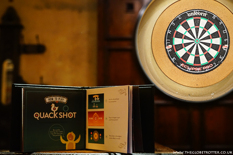 Quackshot game at Flight Club Social Darts