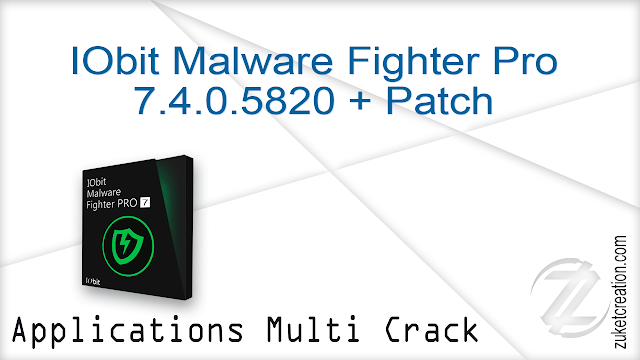 IObit Malware Fighter Pro 7.4.0.5820 + Patch