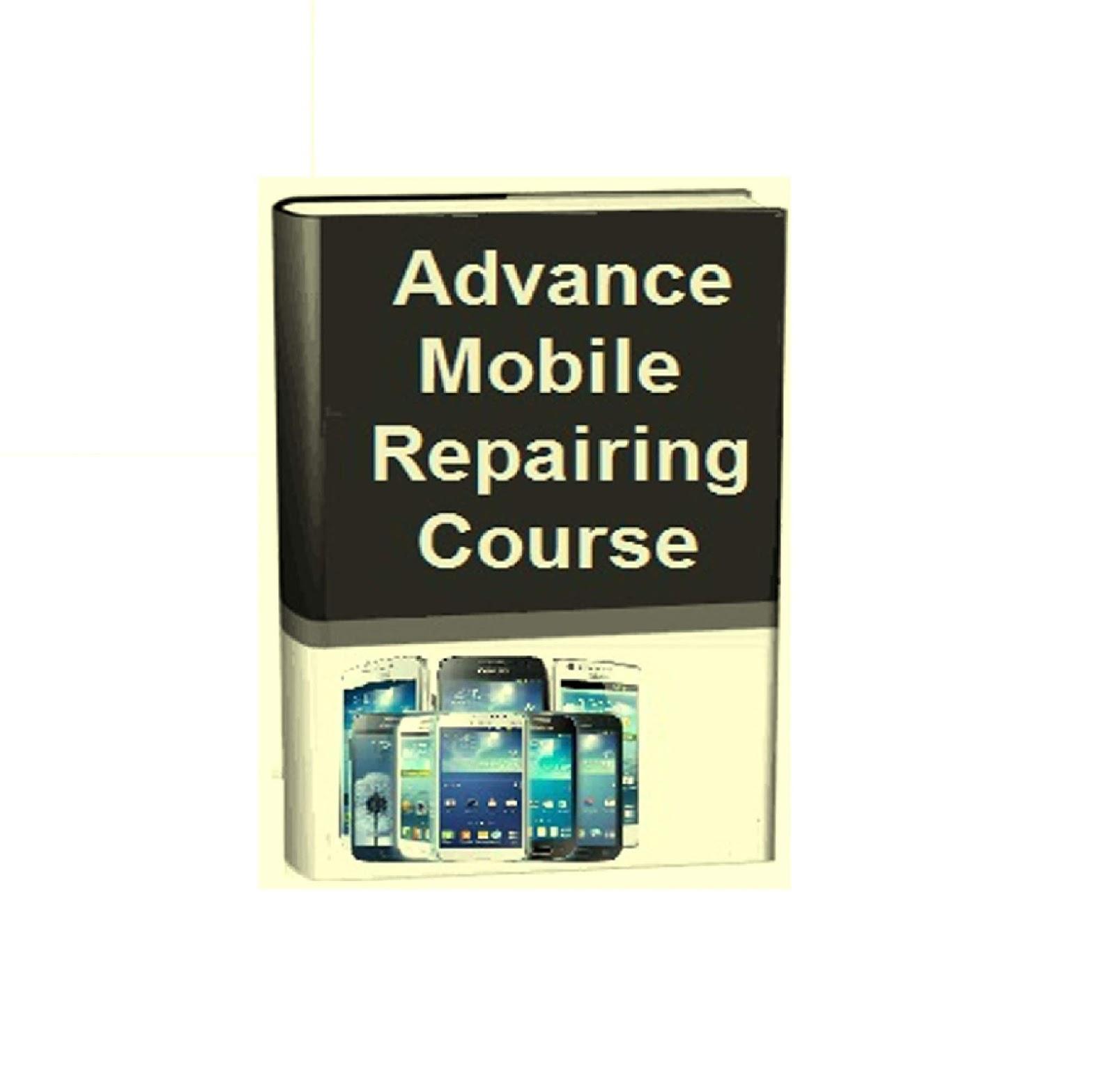 Mobile Phone Repairing PDF Book Free Tutorial & Guide